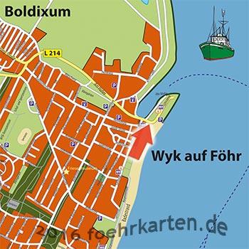 Standort Kamera Binnenhafen